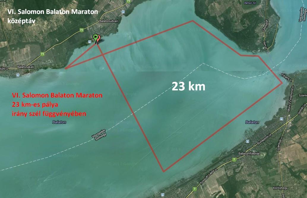 Balaton MAraton 23 km