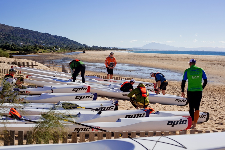 big surfski group